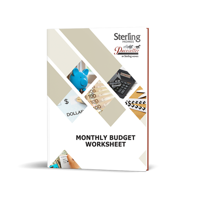 Monthly Budget Worksheet cover image