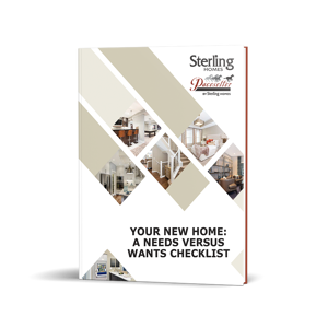 your new home needs versus wants checklist cover image